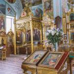 вид храма  Свято-Иоанно-Кормянский монастырь