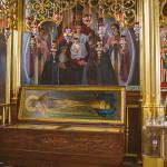 рака с мощами св.прав. Иоанна Кормянского монастырь