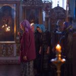 Свято-Иоанно-Кормянский женский монастырь Всенощное бдение в храме Покрова Пресвятой Богородицы